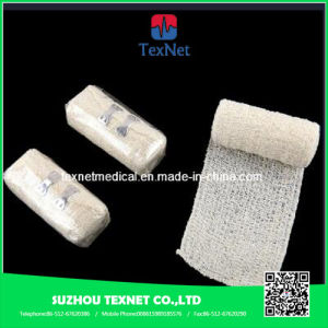 Medical Supply Cotton Crepe Bandage pictures & photos