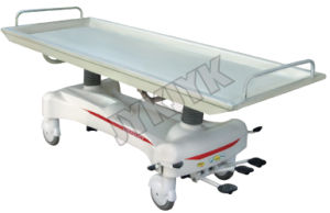 Hydraulic Rise-and-Fall Hospital Stretcher Cart pictures & photos