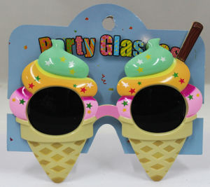 Party Glasses with Ice Cream