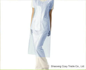 PE Disposable Plastic Aprons Clean Aprons pictures & photos
