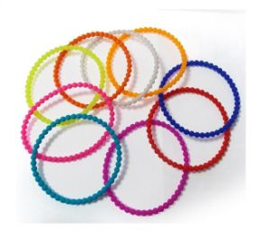 OEM Specially Design Silicone Bead Bracelets pictures & photos