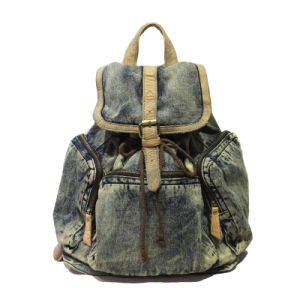 New Leather Bag Classice Bag Dravel Bag Demin Backpack Jean Bags