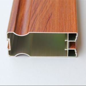 Aluminum Section Profile for Colorful Frame Windows (A0110) pictures & photos