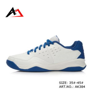 Sports Tennis Shoes Badmintion Breathable Footwear for Men (AK384) pictures & photos