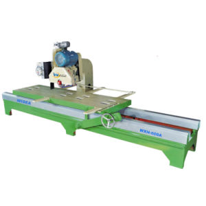 Electricity Lift Manual Edge Cutting Machine for Stone