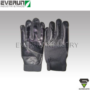 Anti Slip Abrasion Resistant Work Gloves Anti Vibration Gloves pictures & photos
