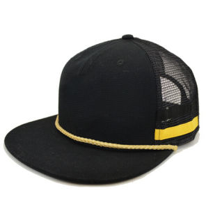 Snake Skin Brim Rope Bill Snapback Trucker Cap pictures & photos