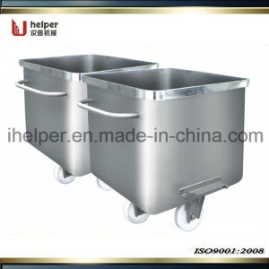 Standard Stainless Steel Meat/Material Trolley/Skip Cart pictures & photos