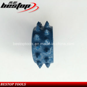 30 Grains Litch Surface Floor Rotary Bush Hammer Rollers pictures & photos