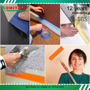 Sh319 Sticky Orange PE Curing Tape for Different Surfaces Protection Masking Somitape pictures & photos