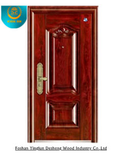 Metal Painting Door Steel Door for Egypt, Security Door pictures & photos