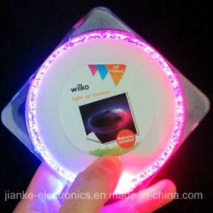 LED Flashing Bottle Coaster with Logo Print (4038)