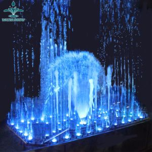 Outdoor Home Garden Decoration LED Light Music Dancing Water Fountain