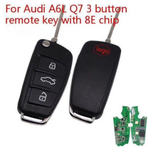 Audi Key Replacement >> China Car Key 3 Button 315mhz 434mhz 8e Chip For Audi A6 Q7 Smart