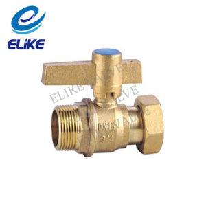 3/4inch Brass Water Mater Valve with Copper Handle