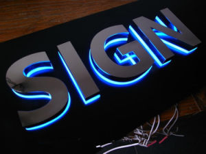 3D LED Signs Lighted Advertising Logotypes Acrylic Channel Letters  Customized Bright Advertising Logos LED Signs Channel Letters Signboard