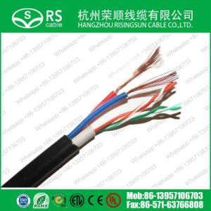 Network LAN Cable 2pair with Power Cable CCTV IP Camera