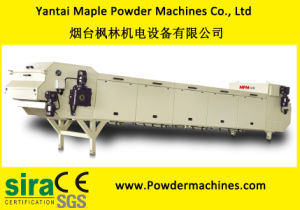 Yantai Maple Powder Coating Cooling Crusher Stainless Steel Belt