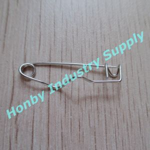 Plain Crimp Safety Pins for ID Badges - Qty 10, 000