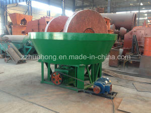 Huahong Model 1600 Wet Pan Mill, 1600A Wet Pan Mill, 1600 Wet Pan Grinding Mill pictures & photos