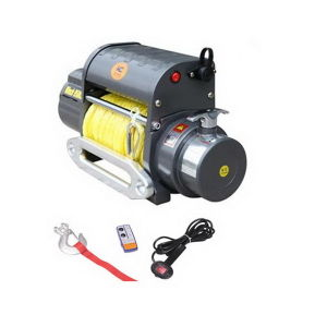 12V Electric Winch 9500lb CE Approved (SIC9.5WX)