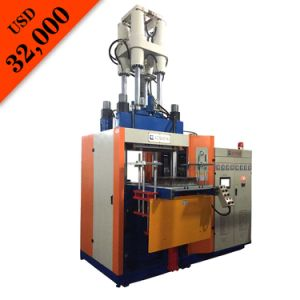 Vertical Type Automatic Injection Molding Rubber Machine pictures & photos
