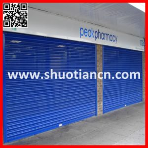 Automatic Metal Steel Perforated Roller Shutter Door pictures & photos