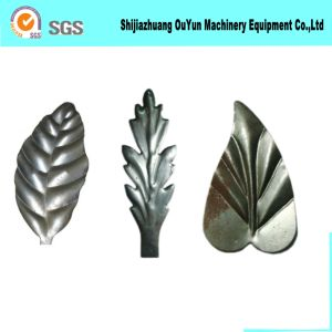 Cast Iron Leaves for Gate Fence Decorative Wrought Iron Component