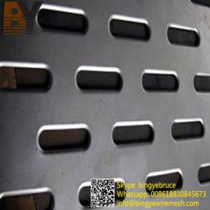 Oblong Hole Perforated Metal From Anping City