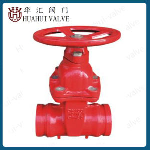 Awwa C509 Grooved Firefighting Gate Valve