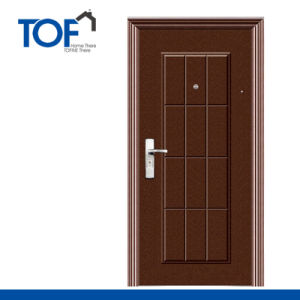 Decorated High Quality Steel Security Door
