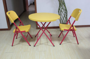 Round Table and Chair Set (SY-80Y) pictures & photos