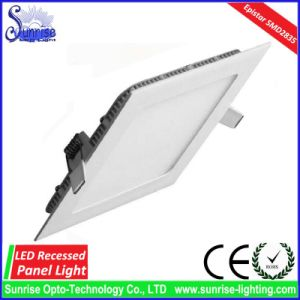 24W Slim Square Recessed LED Panel Ceiling Light