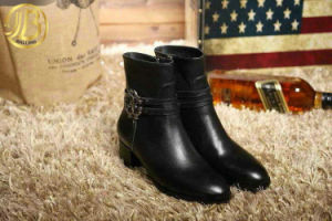 2015 Fashion Women Fashion Genuine Leather Boots, Ankle Boots (YYA06)