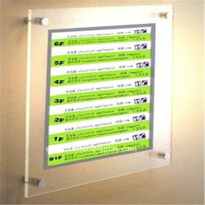 Wall Mounted Floor Index Cards (BTR-I3015) pictures & photos