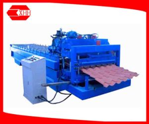 Color Steel Glazed Metal Tile Sheet Roll Forming Machine pictures & photos
