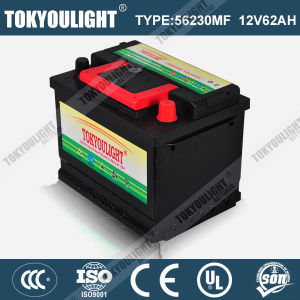 DIN Standard Maintenance Free Battery for Car Engine Starting