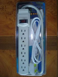 America 6 Sockets Power Strip, Socket, Outlet (PT-307)