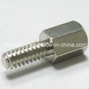 CNC Mahining Stainless Steel Bolts Screw Hexagon Thread M2 Cap Standoff Glass Nut pictures & photos