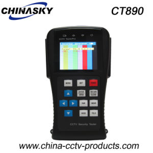 2.8 Inch LCD CCTV Video Tester for Analog Cameras (CT890) pictures & photos