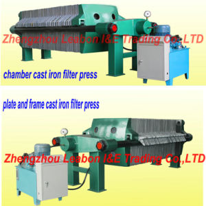 Hot Selling Chamber Cast Iron Filter Press pictures & photos