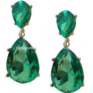 Glory Green Stone Earring Xer13062