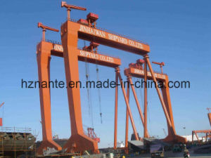 Shipyard Gantry Crane (QME80t-30T-60T-40M-30M) pictures & photos