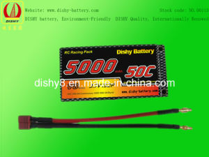 Lipo RC Battery 3.7V 5000mAh 50c RC Remote-Controlled Model Battery