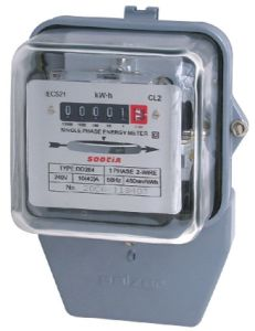 Dd862 Single Phase Kilo Watt Hour Energy Meter