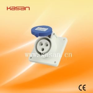 413 IP55 3pin 16A 380V Industrical Plug and Socket pictures & photos