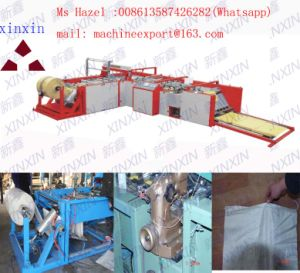 PLC Touch Screen Auto Cutting and Sewing Machine for PP Woven Sack