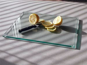 5mm Clear Float Tempered Glass Cutting Board