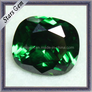 Rectangle Shape Cushion Emerald Cubic Zirconia pictures & photos