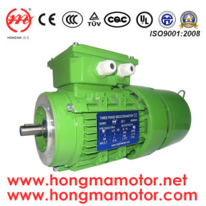 4pole 0.37kw Three Phase AC Brake Motor (712-4P-0.37KW) pictures & photos